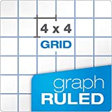 "Oxford Filler Paper, 8-1/2"" x 11"", 4 x 4 Graph"