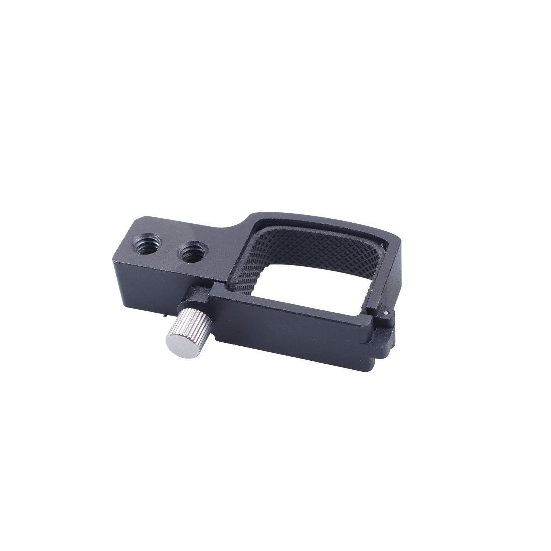 1//4 Filetage 3//8 Trou rep/érer /& Mont Connexion pour DJI Osmo Pocket cardan Accessoires Skyreat en Alliage d/'Aluminium Extension Titulaire w