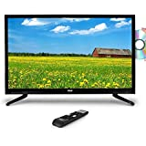 """Pyle Upgraded 2018 40"""" Inch 1080p HD LED TV DVD Player Combo Ultra Hi Resolution Widescreen Monitor w/ HDMI Cable RCA Input, Built in Audio Speaker,Can work for Mac PC Computer, Flat Slim,(PTVDLED40)"""