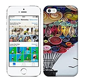 Best Power(Tm) HD Colorful Painted Watercolor I Believe I Can Fly Hard Phone Case For Iphone 5/5S