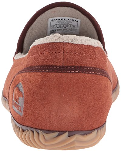 Sorel Herren Dude Moc Hausschuhe Rustic Brown/Redwood