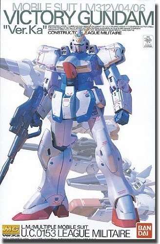 Model Kit Bandai Japan - LM312V04 V Gundam Ver.Ka (MG) (1/100 scale Gundam Model Kits) Bandai [JAPAN]