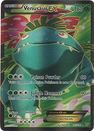 Fullart DE NM Pokemon Bisaflor-EX 141//146 XY1 Venusaur-EX