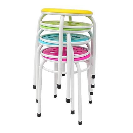 DEED Taburete para silla de casa Silla plegable Taburete ...
