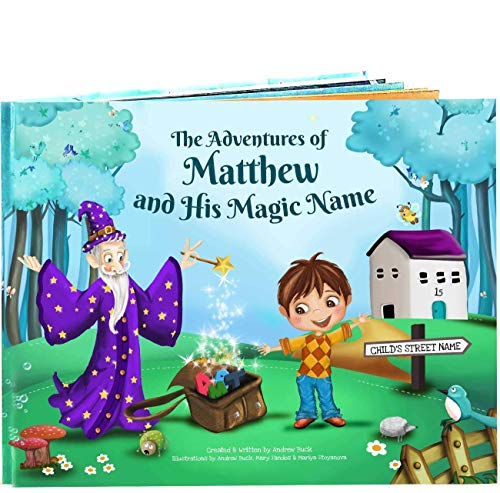Personalized Story Book for Kids - 100% Unique - Custom Made - Great Gift for Young Children and Babies