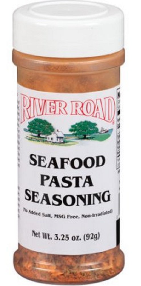 River Road Seafood Pasta Seasoning, 3.25 Ounce Shaker