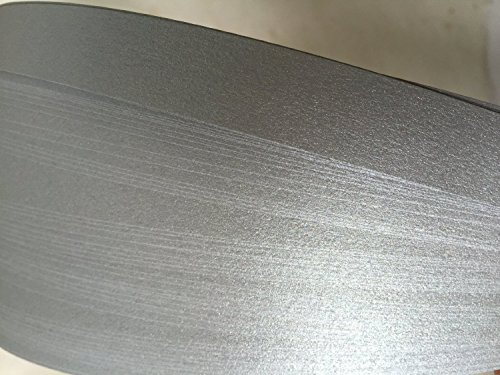 German Moravian Star Strip Weaving Papers, 50 Pack, Shimmer Dark Silver (3/8 inch) - German Star Ornament