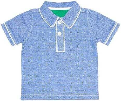 Kapital K bebé Boys bicolor Pique Polo (Baby) - azul - 12 meses ...
