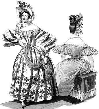1830s Romantic Era Dress Pattern (Era Gown)