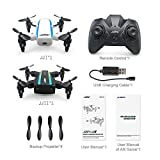Littleice 2PC JJRC H345 Micro Foldable Drone Dual-Aircraft Combination Remote Control RC Quadcopter