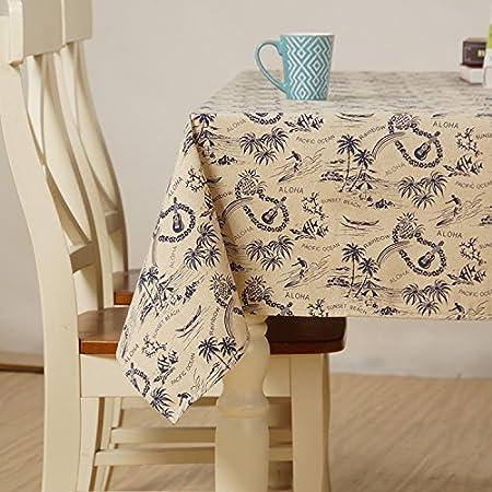 JYZB Japanische Baumwolle Und Leinen Tischdecke Dekoration Restaurant Stoff Wohnzimmer Tisch Tuch Fr Party Haushalt Bankett Picknick