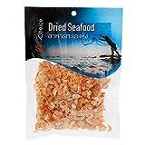 Thai Sea food Banana shrimp Dried shrimp Seafood grade A for Cooking & Snack umami taste For Thai food menu 100 g.