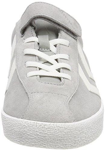 Hummel Unisex-Kinder Diamant Jr Sneaker Grau (Alloy)