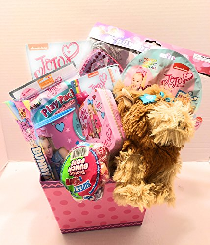 Nickelodeon JoJo Siwa Easter Holiday Gift Basket or Birthday