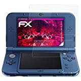 atFoliX Plastic Glass Protective Film for Nintendo New 3DS XL 2015 Glass Protector, 9H Hybrid-Glass FX Glass Screen Protector of plastic (Set of 1)