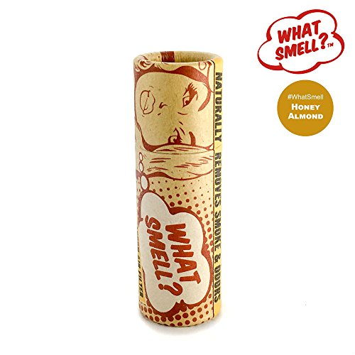 What Smell? Personal Smoke Filter (Honey Almond) Natural Sploof - Old Version (Best Way To Cover Up Smoke Smell)