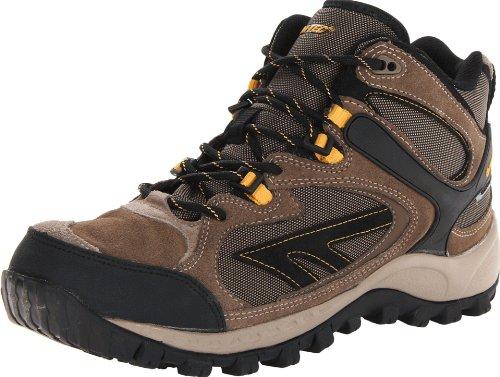 UPC 090641253040, Hi-Tec Men's West Ridge Mid Waterproof Hiking Boot,Smokey Brown/Taupe/Gold,8 M US