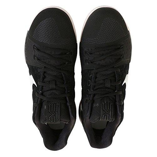 Nike Mens Kyrie 3 Ep, Nero / Bianco-limo Rosso, 10 M Us