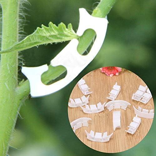 100pcs Pflanze Befestigerclips Für Tomaten Reben Gemüsepflanze Schellen Farming Clip Vine Bushes Clamp Farming Vines Clip Pflanzen Clips