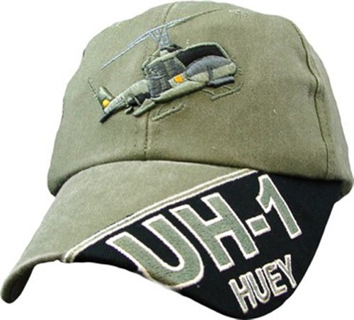 Air Force UH-1 Huey Ball Cap, Adjustable, Green for sale  Delivered anywhere in USA