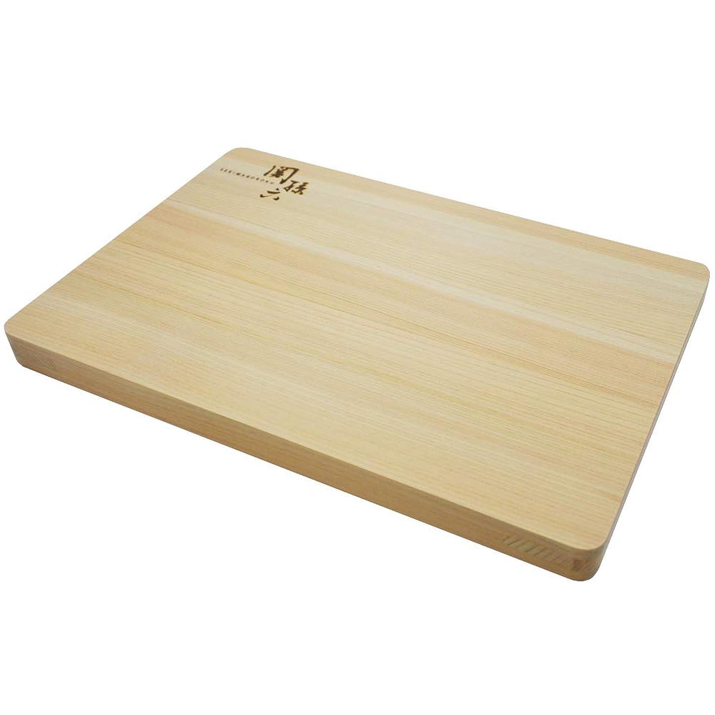 評価可能巻き戻す豪華なメルペール ネコ 国産 ひのき まな板 770-320