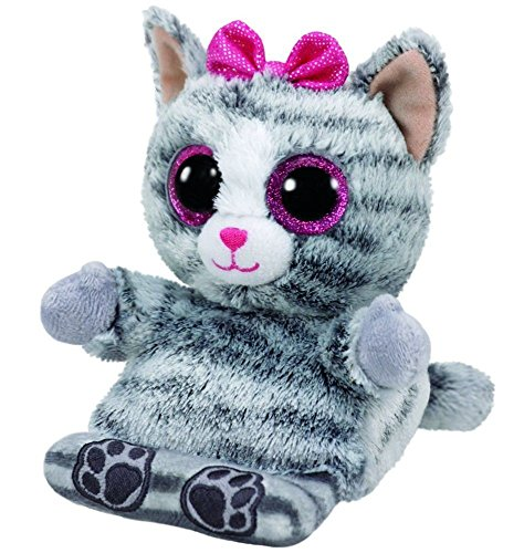 467d6919beb Ty Peek-A-Boo Phone Holder with · Molly Grey Cat Phone Holder