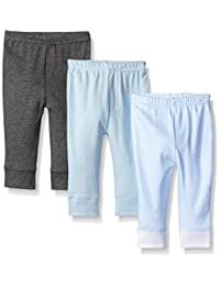 Luvable Friends womens Baby Tapered Ankle Pant, 3 Pack