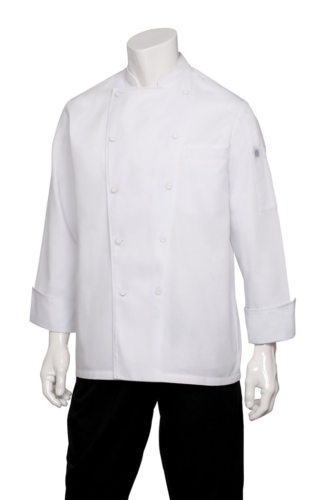 Chef Works Men's Cambridge Executive Chef Coat (SCHR) by Chef Works