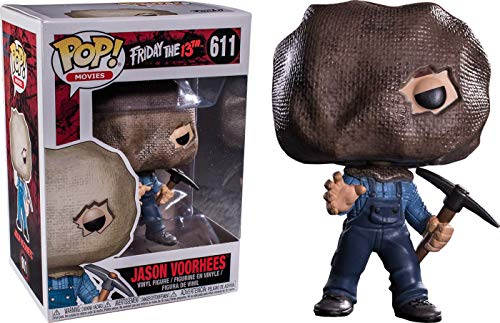Pop Vinyl Movies: Friday The 13th Part 2 Jason Voorhees Vinyl Figure (Sack Mask & Pick Axe) (Part 2)