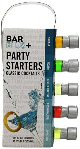 MSRF Bar Plus+ Party Starters Classic Cocktail Variety Pack