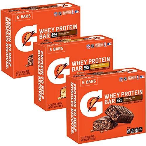 Gatorade Whey Recover Protein Recover Bars Variety Whey Pack bars 2.8 oz bars (18 Count) [並行輸入品] B07N4NDL3D, 木製漆器専門 漆木屋:2d76af35 --- ijpba.info