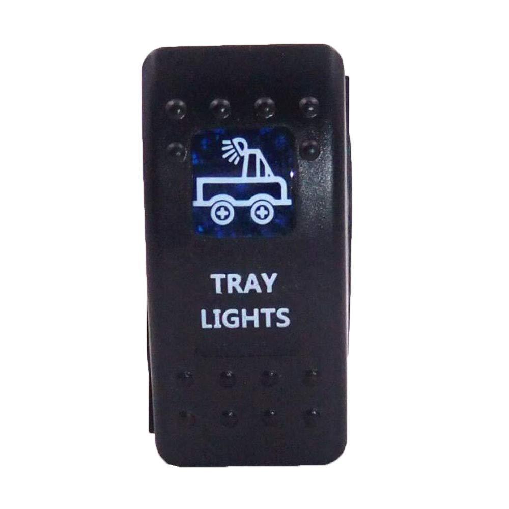 Meipire Auto-Modifikationsschalter Scheinwerferschalter Wippschalter Wippschalter Nebelscheinwerfer Tray Lights Switch