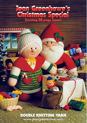 Amazon Jean Greenhowe Knitting Pattern Book Christmas Special