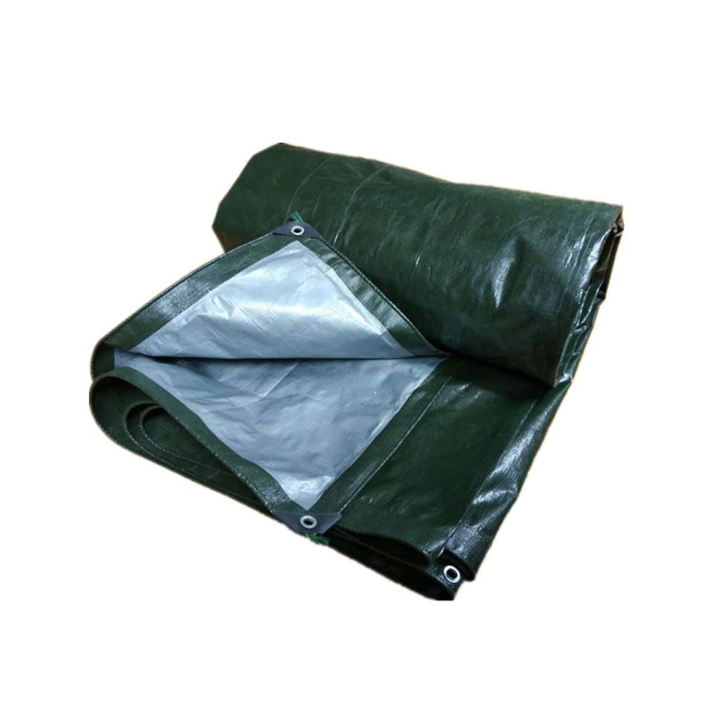 Beauty Brand Telone di Tela Cerata Teli di Protezione Panno per Visiera Tessuto Antipioggia Panno verde (colore   3X4M)