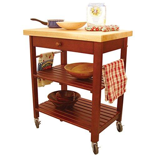 Roll-About Kitchen Cart by Catskill Craftsman