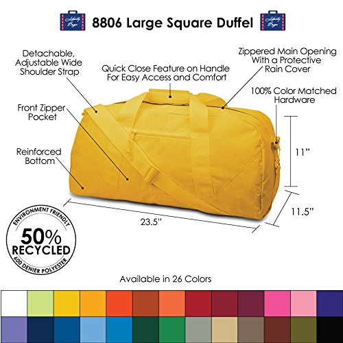 Liberty Bags Large Square Duffel Photo #3