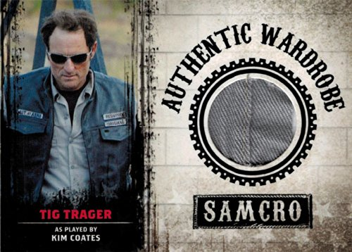 Sons of Anarchy Seasons 1 to 3 M10 Wardrobe Costume Card Kim Coates as Tig (Of Sons Cards Anarchy Wardrobe)