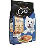 Cesar Rotisserie Chicken Flavor With Spring Vegetables Garnish Dry Small Breed Dog Food 12 Pounds; 100% Nutritionally Complete & Balanced for all life stages for small dogs.