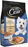 CESAR Rotisserie Chicken Flavor With Spring Vegetables Garnish Dry Small Breed Dog Food 12 Pounds; 100% Nutritionally Complete & Balanced for all life stages for small dogs. For Sale