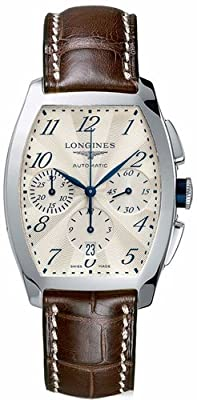 Longines Evidenza Automatic Chronograph Silver Dial Stainless Steel Mens Watch L2.643.4.73.4 by Longines