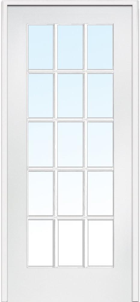 32 Prehung Interior Door & 32 In  X 80 In  Pine Unfinished