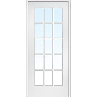 National Door Company Z009305R Primed MDF 15 Lite Clear Glass Left Hand Prehung Interior Door  sc 1 st  Amazon.com & National Door Company Z009305R Primed MDF 15 Lite Clear Glass ... pezcame.com