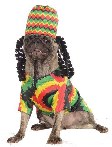 Rubies Pet Costume Large Rasta