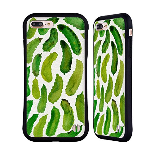 Official Cat Coquillette Pickles Fruits & Veggies Hybrid Case for iPhone 7 Plus/iPhone 8 Plus