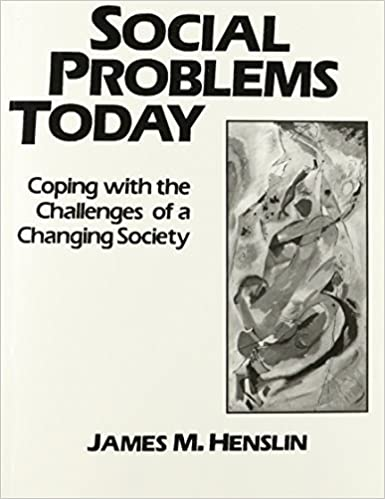 Book Social Problems Today: Crisis, Conflicts and Challenges by James M. Henslin (1990-02-12)