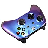 eXtremeRate Purple and Blue Chameleon Front Housing Shell Faceplate for Microsoft Xbox One X & One S Controller