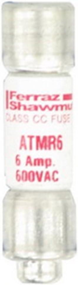 6Amp 600V Cartridge Fuse Ferraz Shamwut//Mersen ATMR-6