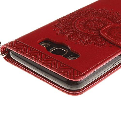 Caso J510 Funda Polvo nbsp; Galaxy J5 móvil 2016 PU silicona Conector 7 smartphone Carcasa cubierta para nbsp; negro Cover teléfono Samsung Painted de De Piel Carcasa de Case PC 8 Shell 1BvBSFOq