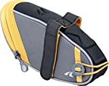 Detours Wedgie Seat Bag - Large (Gray/Orange)