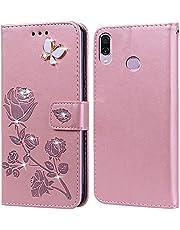 Hoes voor Huawei Honor Play,telefoonhoes voor Huawei Honor Play,klaphoesje case, standfunctie, kaartenvak, siliconen bumper, stootvaste beschermhoes voor Huawei Honor Play(6,3 inch)
